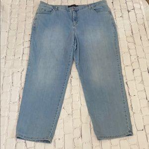 Gloria Vanderbilt Amanda Jeans Plus Size 20WS